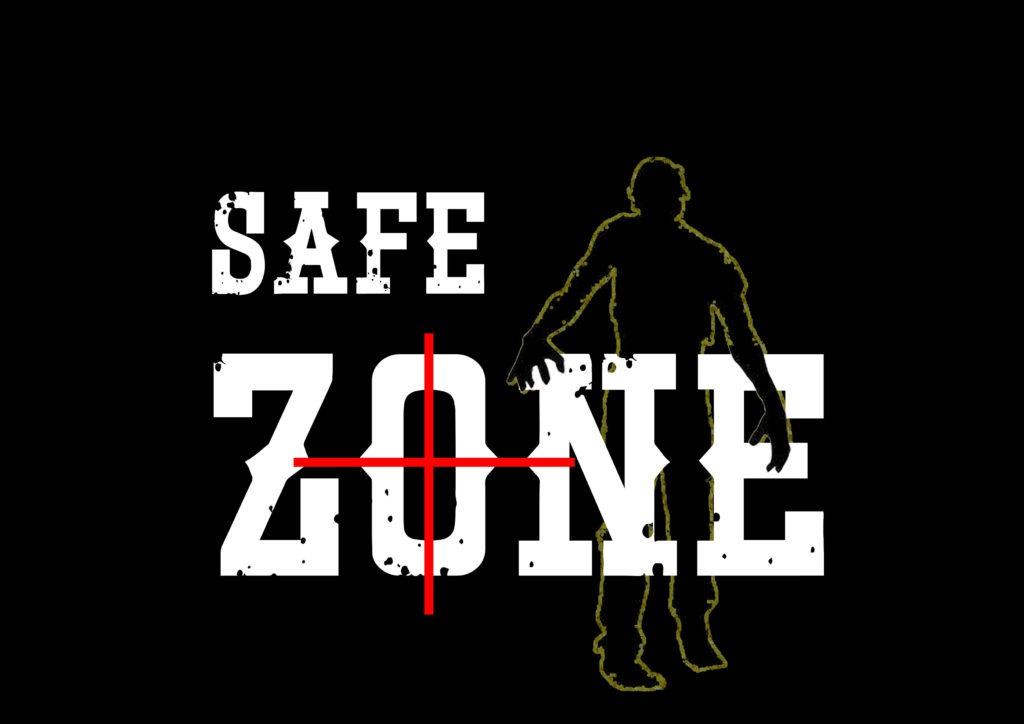 Safe zone maze - don't get infected